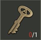 Polizeistation Schlüssel