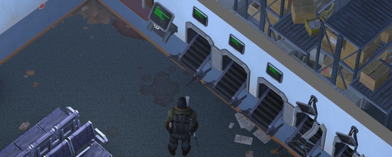 Polizeistation Terminal